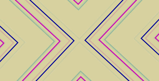 Animated Colored Concentric Geometric Shapes To Center Animation
