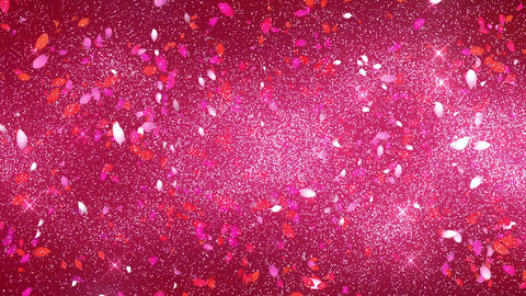 petals of cherry blossom Animation