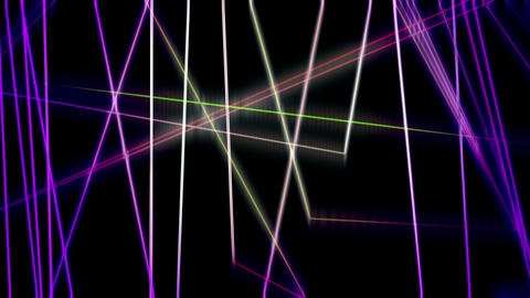 Abstract Motion Background Light Colored Shine Streak Lines Animation