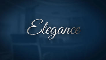 Elegance - Reflective 3D Logo After Effects Project