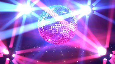 Mirror Ball 2b F Bb 1 HD Stock Video Footage