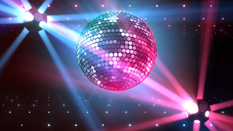 Mirror Ball 2b F Bb 3 HD Stock Video Footage