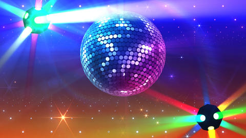 Mirror Ball 2b F Bb 5 HD Stock Video Footage