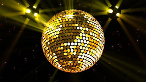 Mirror Ball 2b H Bb 2 HD Stock Video Footage