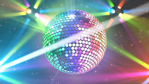 Mirror Ball 2b H Cc 1 HD Animation
