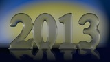 New Year 2013 stock footage