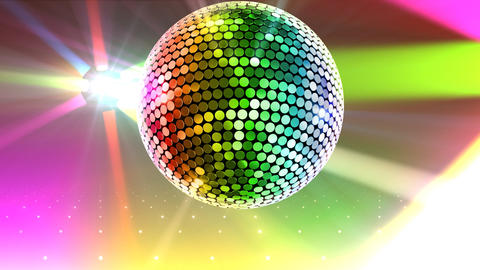 Mirror Ball 2b I Cc 2 HD Stock Video Footage