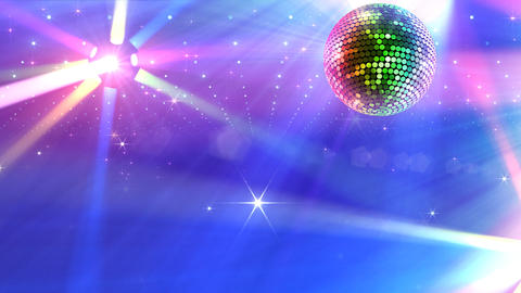 Mirror Ball 2b I Cc 7 HD Stock Video Footage