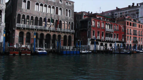 VENICE Canal Grande 10 Stock Video Footage