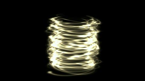 helix circle energy tornado field & metal... Stock Video Footage