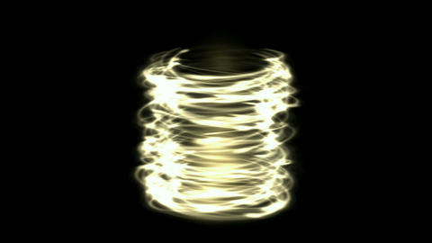helix circle energy tornado field & metal... Stock Video Footage
