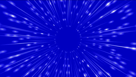 travel in universe,rays light & time tunnel Stock Video Footage
