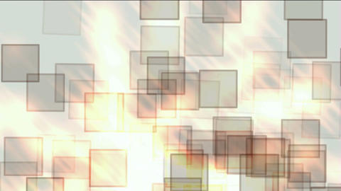 glass square & mosaic debris background,flash fire light Stock Video Footage