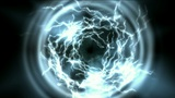 power energy tunnel & lightning magnetic field Animation