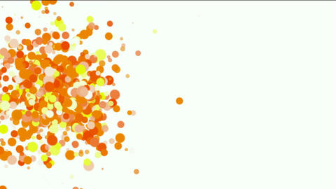 abstract colorf circles loop,bubble & blister array... Stock Video Footage