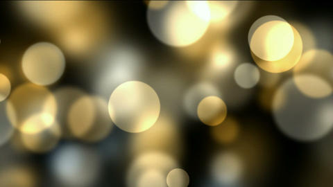 flowing light dots & circle particles Stock Video Footage