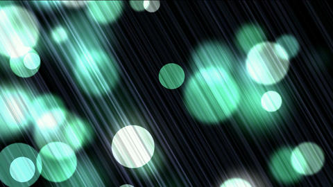 light dots & circle particles on tilt lines background Animation