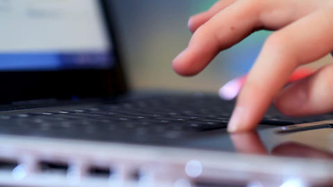 Typing Stock Video Footage