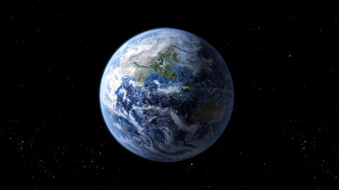rotating earth Stock Video Footage