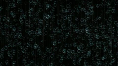 ripple on water surface,falling rain Stock Video Footage