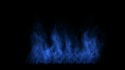 blue fire Stock Video Footage