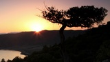 Timelapse sunset in the mountains. Noviy Svet, Crimea, Ukraine Footage