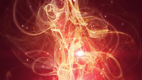 Cassandra - Elegant Organic Flame-like Video Background Loop Stock Video Footage