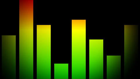 sound equalizer Stock Video Footage