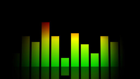 audio equalizer Stock Video Footage