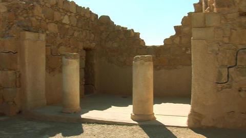 Masada buildings Footage