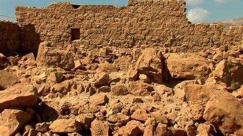 stones of Masada b Stock Video Footage