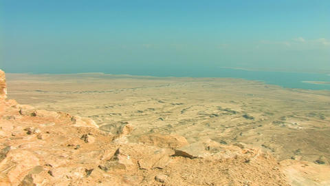 view from Masada Footage