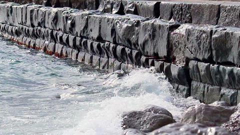 Black sea Stock Video Footage