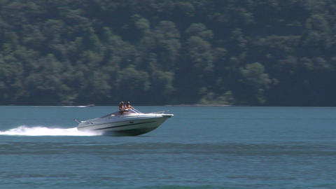 motorboat 29 Stock Video Footage