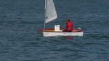 small boat sailing school 02 Footage