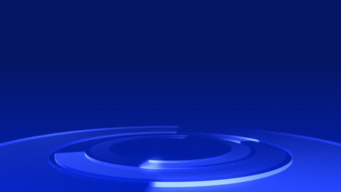 Circle Stage Af 3b HD Stock Video Footage