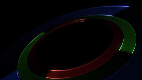 Circle Stage Gb 4b HD Stock Video Footage