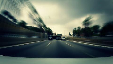 Car trip 01 Stock Video Footage