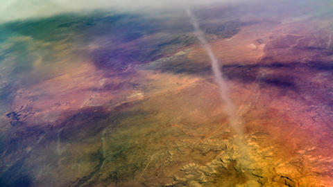Desert aerial, Glen Canyon 4K Footage