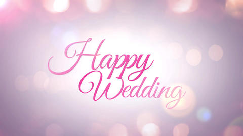 Wedding title 2, Stock Animation