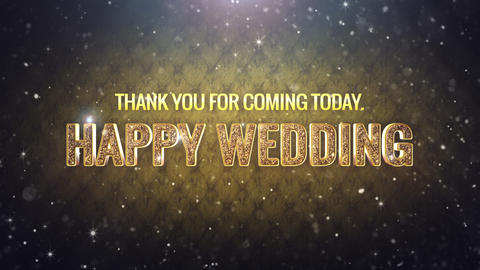 Wedding title 4 Animation