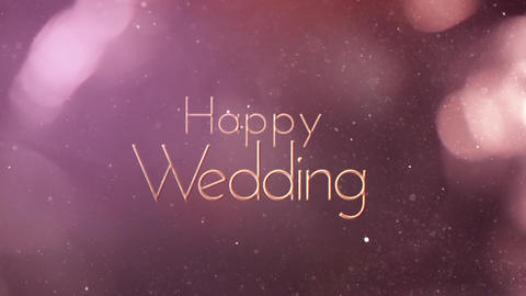 Wedding title 5 Animation