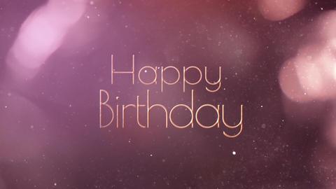 birth day glitter 3 Animation