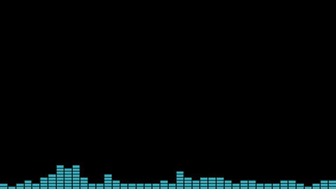 Music/Audio Spectrum - Loopable (Full HD) Animation