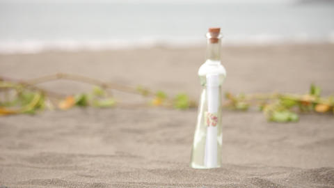 Message in a Bottle Footage
