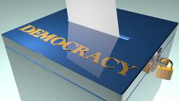 Ballot democracy animation Footage
