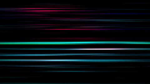 Shining Flickering Lights Lines Motion Colored Background Animation