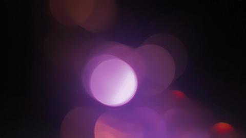 Light Leaks and Bokeh 05 Stock Video Footage