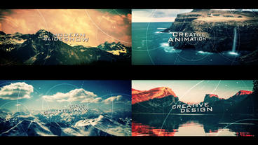 Creative Cinematic Slideshow After Effects Template