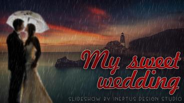 My sweet wedding Apple Motion-Vorlage